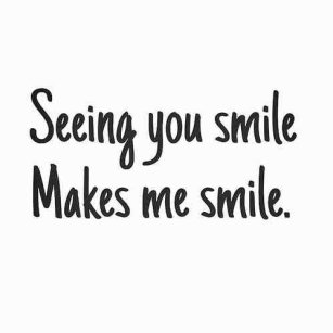 love smile quotes for him