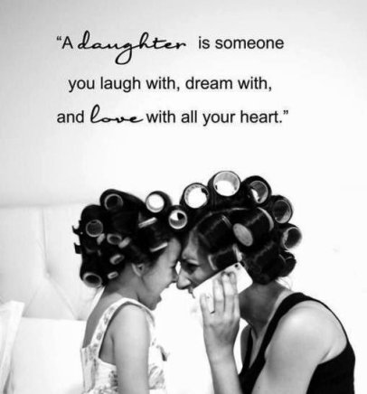 Love Quotes Daughter Awesome Beautiful Mother Daughter Quotes  Short & Cute Complete