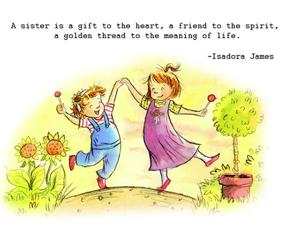 Cute and Funny Sister Quotes & Sayings with Images [The Complete Collection]
