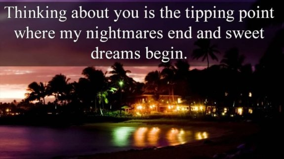 sweet dreams quotes for him