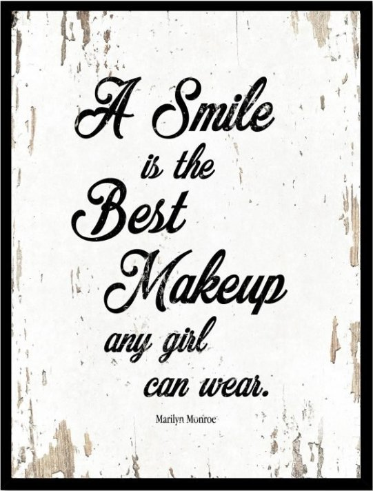 marilyn monroe quotes smile