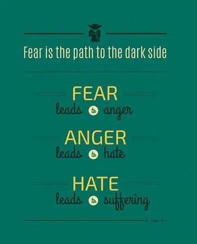 yoda quotes fear