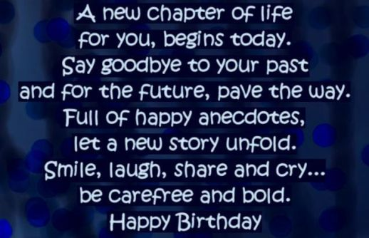 40th birthday wishes
