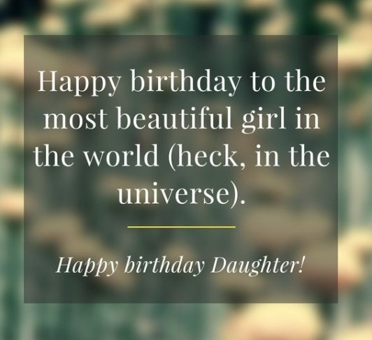 Birthday Quotes For Daughter Inspiration 48 SPECIAL Happy Birthday Daughter Wishes Quotes BayArt