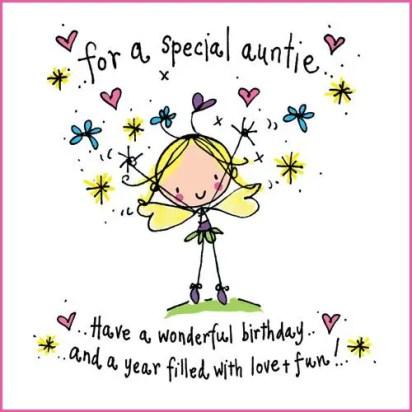 happy birthday to my aunt