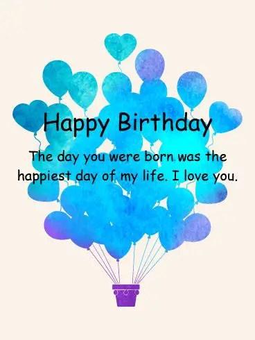 happy birthday to my son