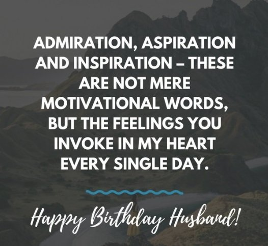 husband birthday quotes
