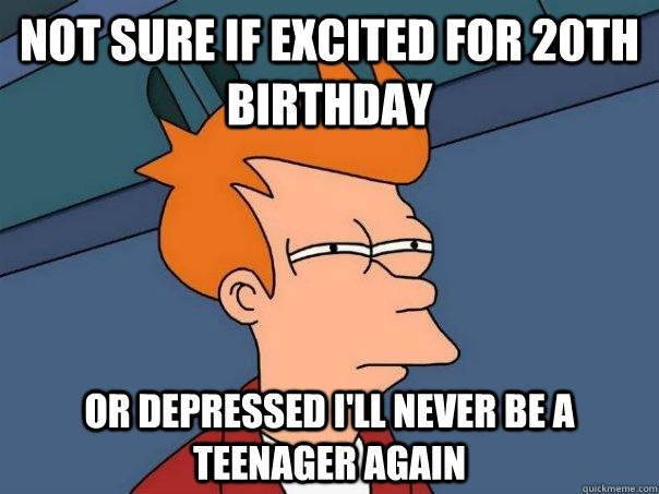20th birthday