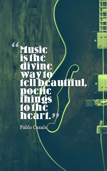 music speaks quotes