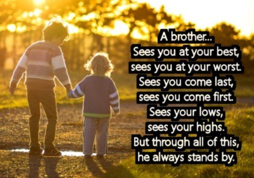 274 memorable brother quotes to show your appreciation