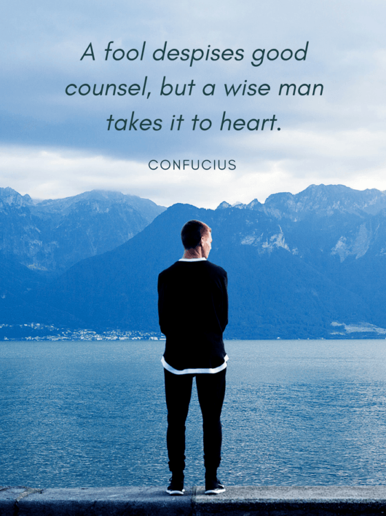 Confucius Quotes Wise Man