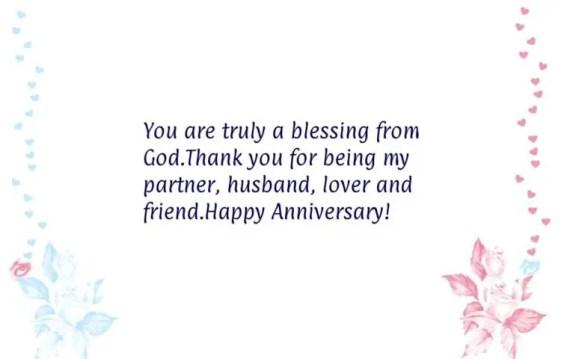 anniversary message