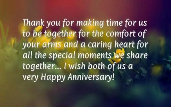 wedding anniversary messages