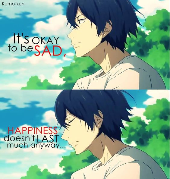 anime quotes about happiness