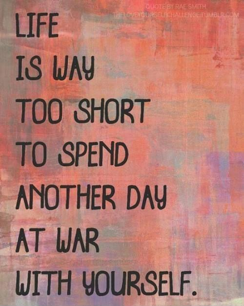 deep life is too short quotes