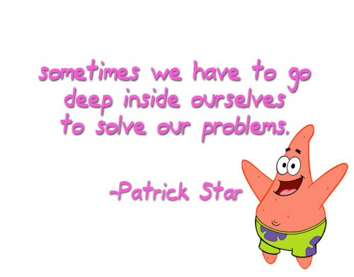 inspirational spongebob quotes