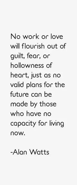 inspiring alan watts quotes
