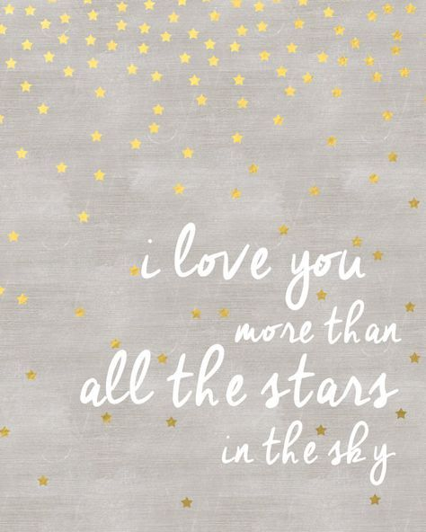 ı love you more than all the stars in the sky