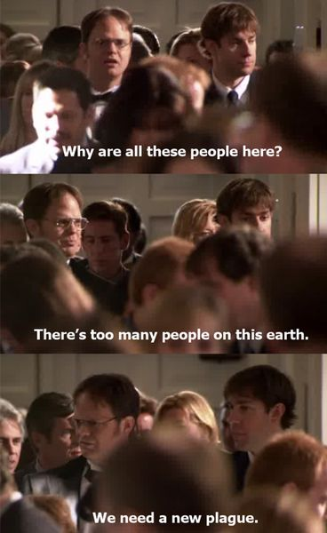 dwight schrute quotes about people