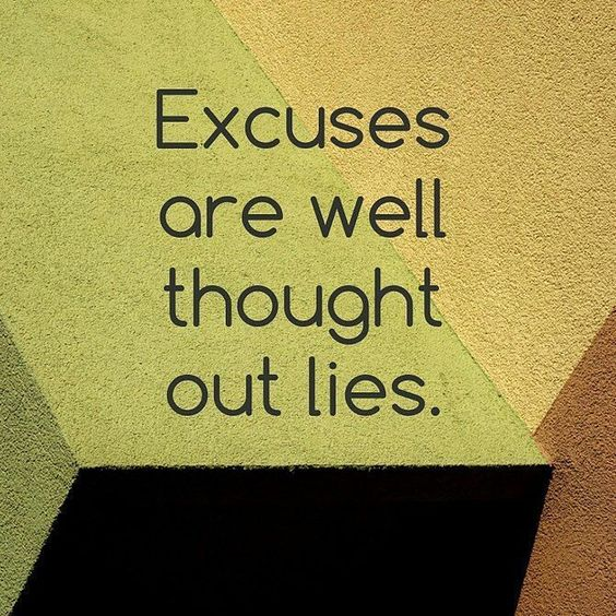 famous excuses quotes