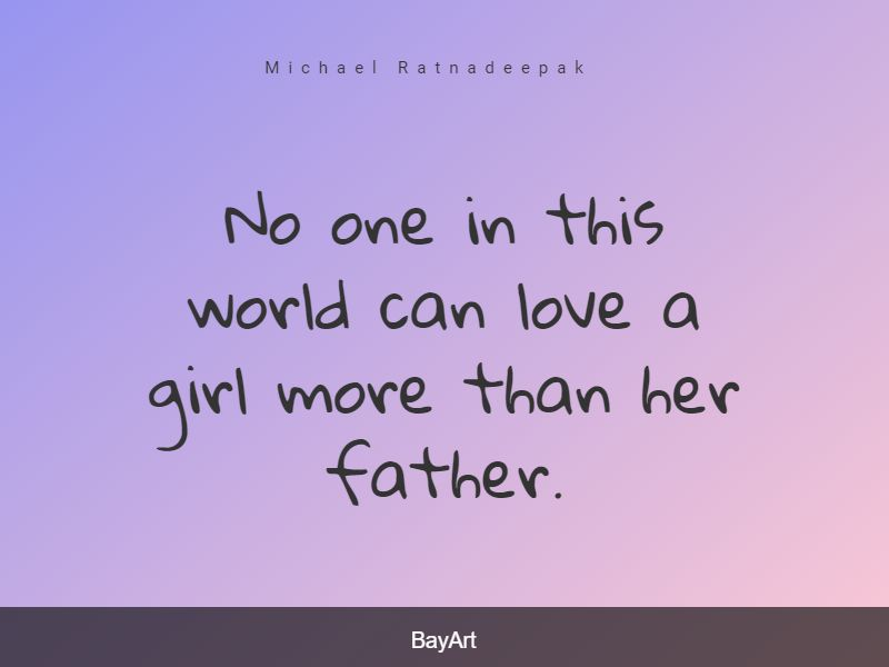 father daughter quotes and sayings