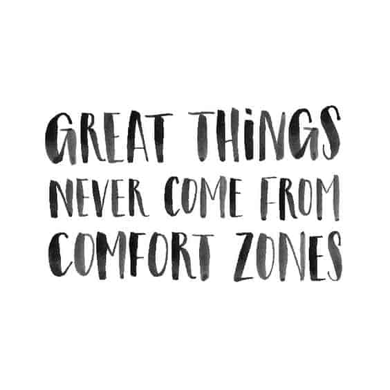 comfort zone quotes images