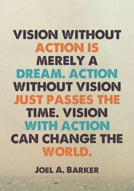 inspirational vision sayings