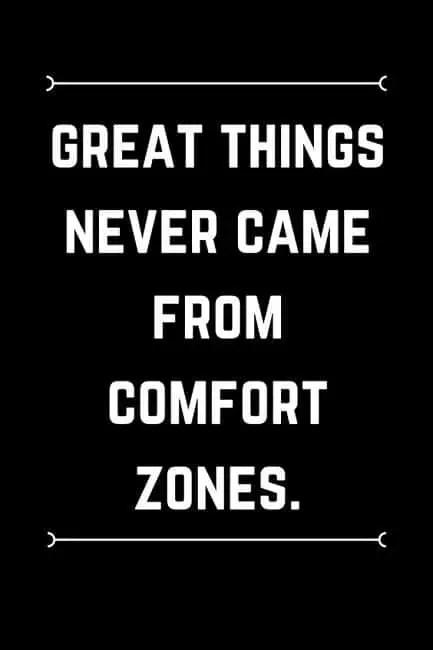 inspiring comfort zone quotes