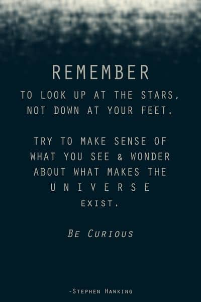 quotes on curiosity and exploration