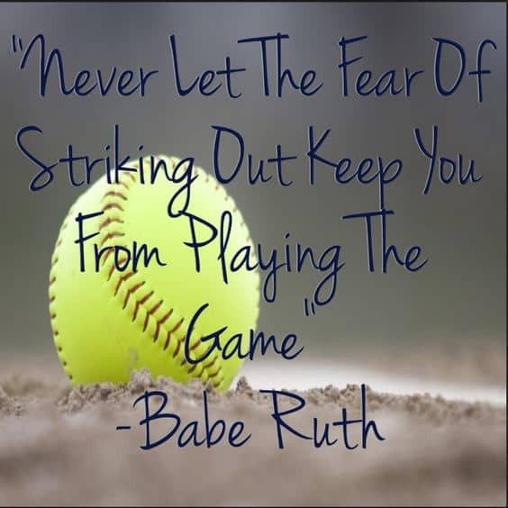 softball quotes inspirational