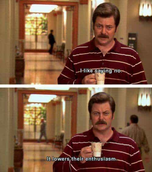best parks and rec quotes from ron swanson