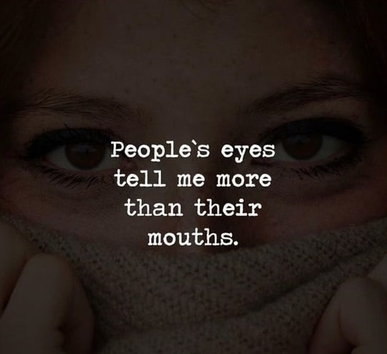 eyes tell more quotes