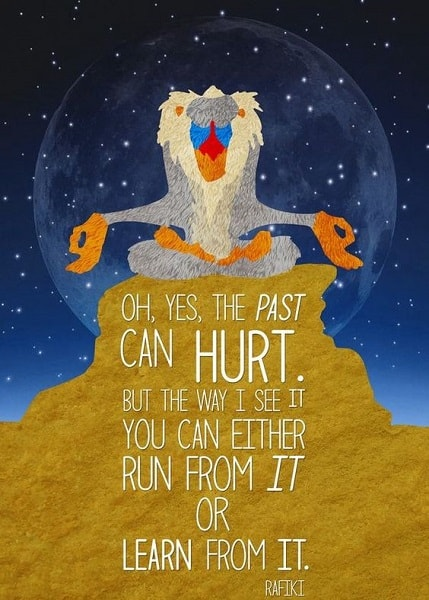 lion king quotes rafiki