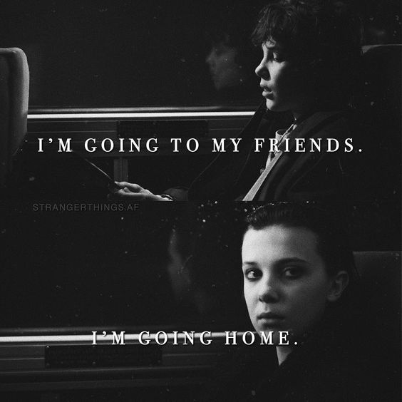 stranger things quotes friends