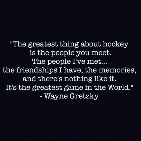 wayne gretzky quotes about hockey