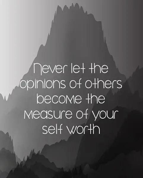 amazing self worth quotes