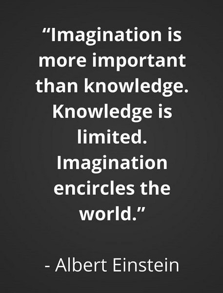 einstein quotes about imagination