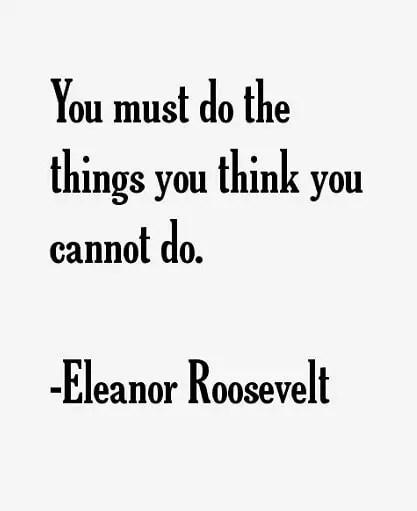 motivating eleanor roosevelt quotes