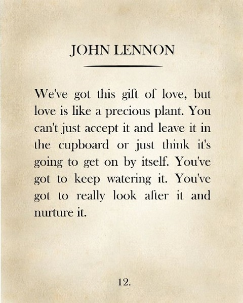 john lennon quotes about love