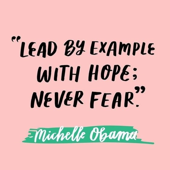michelle obama quotes on leadership