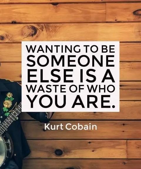 motivating kurt cobain quotes