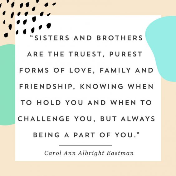 sibling bond quotes