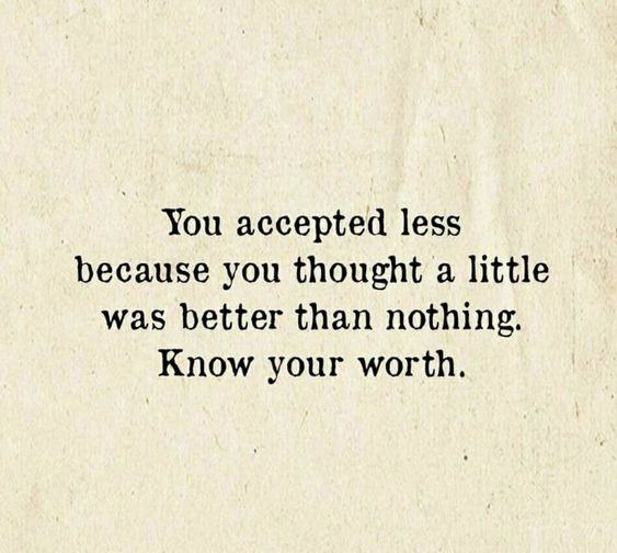 always know your worth quotes