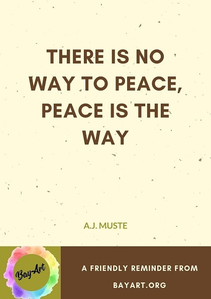 peace quotes with images