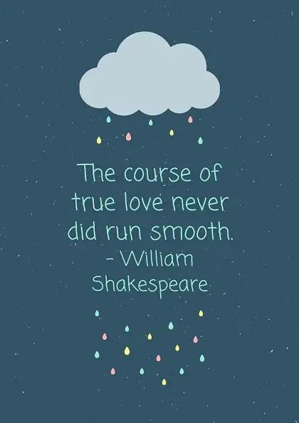 william shakespeare quotes on love