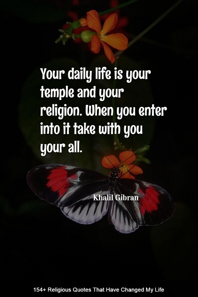 powerful religion quotes and sayings