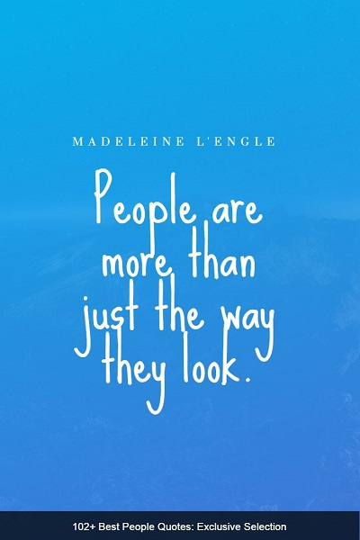 famous quotes about people