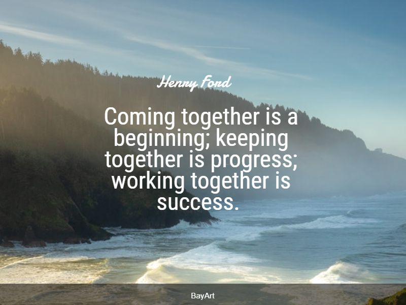 encouraging collaboration quotes