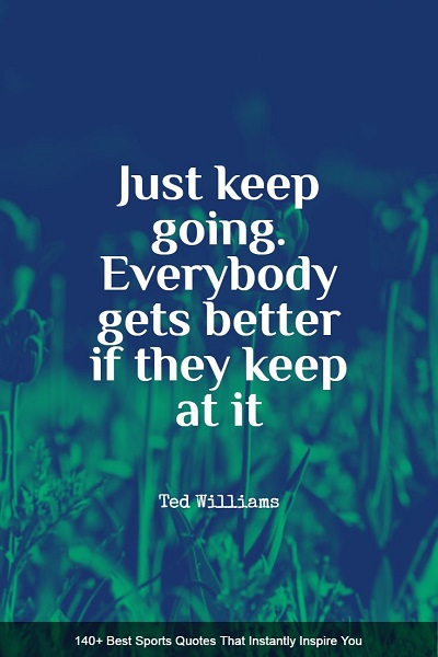 encouraging sports quotes and sayings