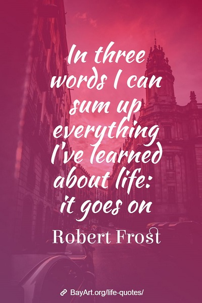 famous life quotes sayings